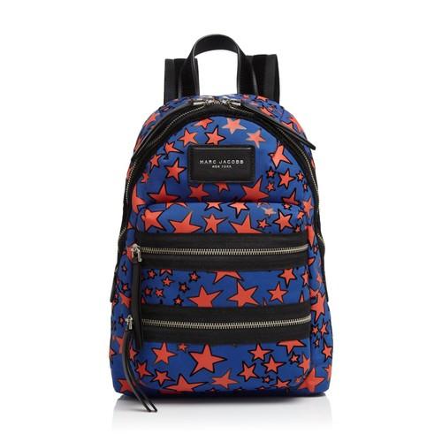 MARC JACOBS Medium Flocked Stars Print Backpack