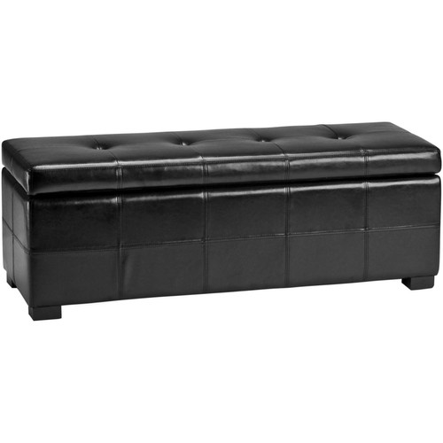Safavieh Hudson Collection Maiden Large Tufted Storage Bench