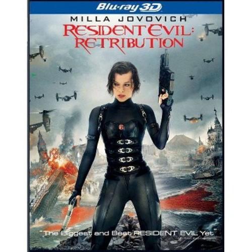 Resident Evil:Retribution 3d (Blu-ray)