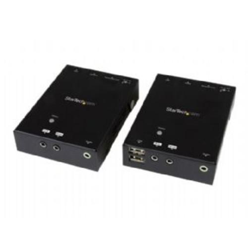 StarTech.com HDMI over CAT5 HDBaseT Extender - 295 ft (90m) - Ultra HD 4K - Video/audio/infrared/USB extender - up to 328 ft