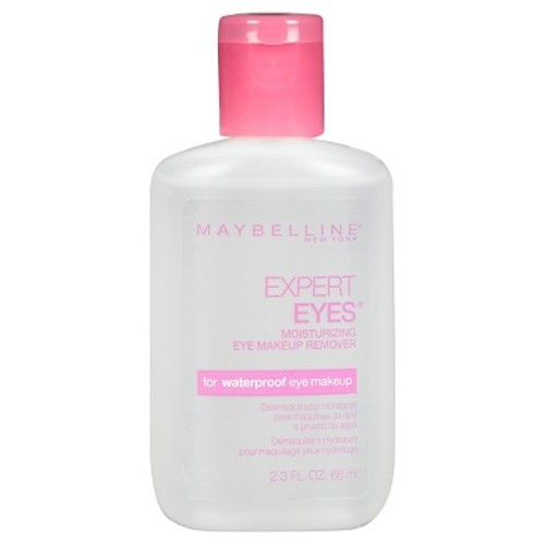 Maybelline Expert Eyes Moisturizing Eye Makeup Remover, For Waterproof Eye Makeup, 2.3 fl. oz.