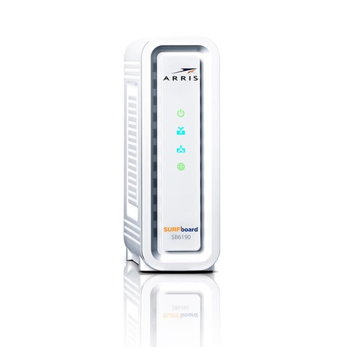 ARRIS SURFboard Gigabit+ DOCSIS 3.0 32 x 8 Cable Modem SB6190 Refurbished