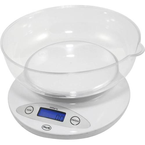 American Weigh Scales - Digital Kitchen Scale - White