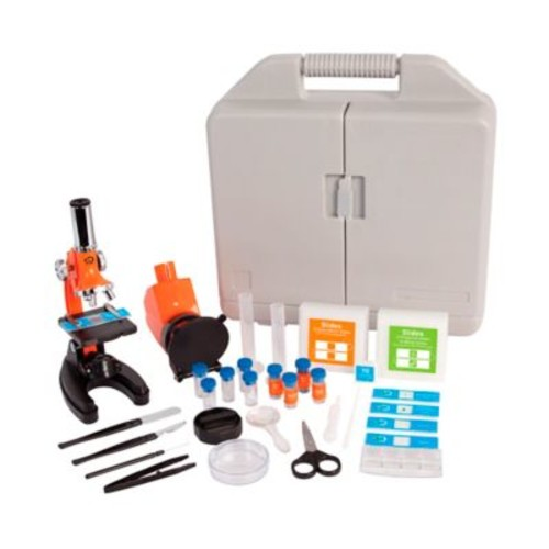 Discovery 1200X Biological Microscope with Case