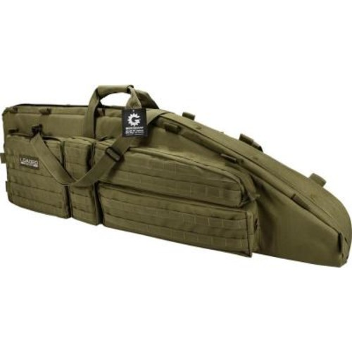 BARSKA Loaded Gear RX-600 46 in. 2-Rife Tactical Carrying Bag in Olive Drab Green