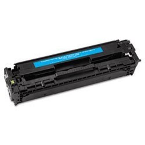 HP CC531A Cyan Toner Cartridge for HP Color LaserJet CP2025, CM2320 Printers.