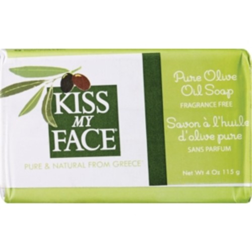Kiss My Face Pure Olive Oil Soap Fragrance Free