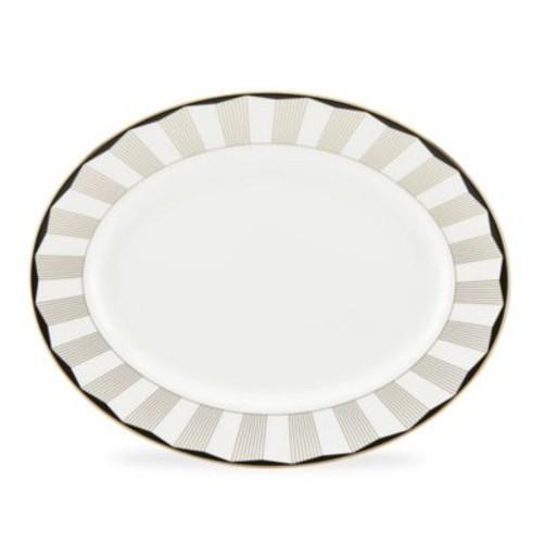 Brian Gluckstein by Lenox Audrey 13-Inch Oval Platter