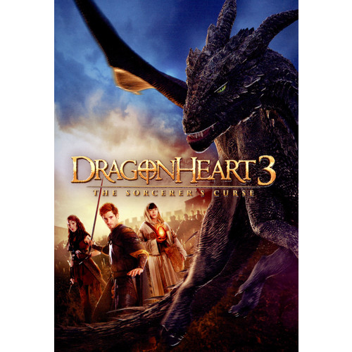 Dragonheart 3: The Sorcerer's Curse [DVD] [2015]