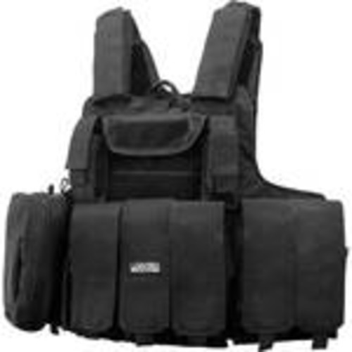 Loaded Gear VX-300 Tactical Vest (Black)