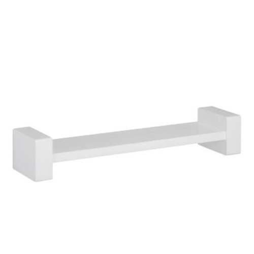 Honey Can Do H Wall Shelf, White (SHF-04397)