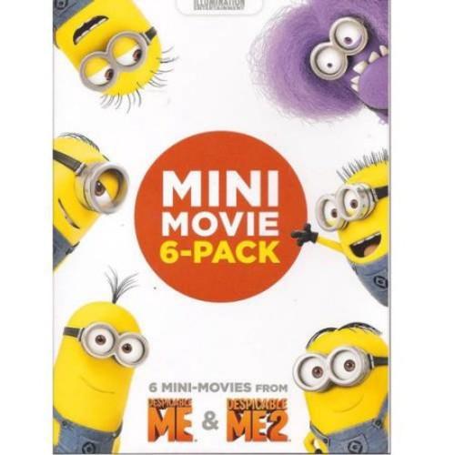 Despicable Me & Despicable Me 2 Mini-Movie 6-Pack