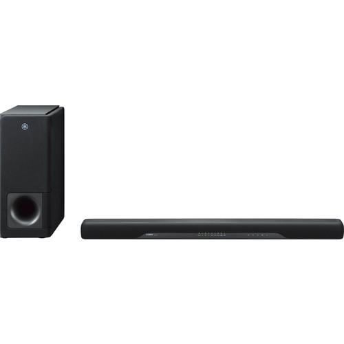 Yamaha - 2.1-Channel Soundbar System with 6-1/2