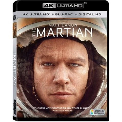 The Martian (4K Ultra HD + Blu-ray + Digital HD)