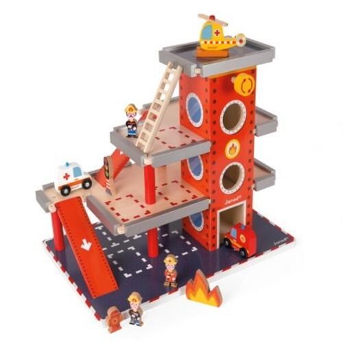 Pretend Play Fire Station Set