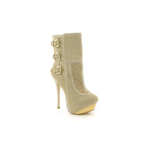 Women's High Heel Ankle Boot Edita Top