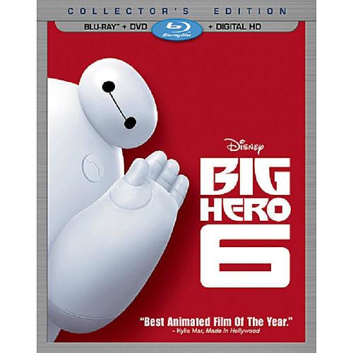 Big Hero 6 Blu-Ray Combo Pack (Blu-Ray/DVD/Digital HD)