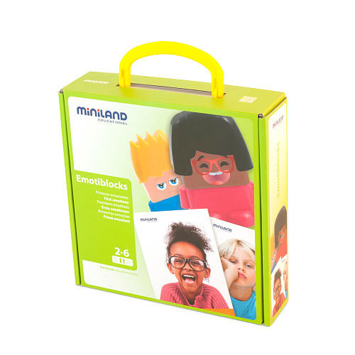 Miniland Educationals Emotiblocks Game