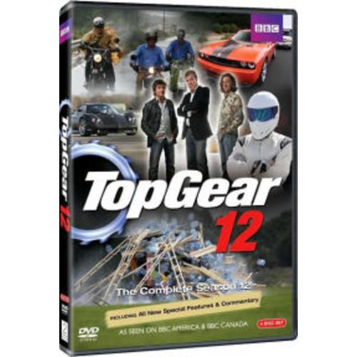 Top Gear: The Complete Season 12 (4 Discs) (dvd_video)