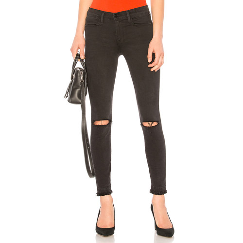 FRAME Le High Skinny Jean in Malloy