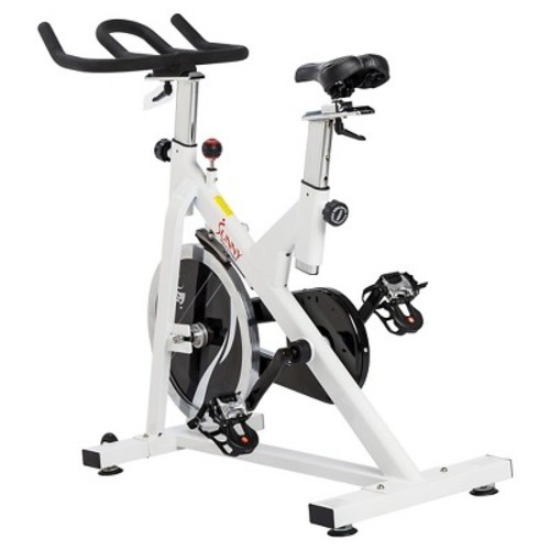 Chain Drive Indoor Cycling Trainer Exercise Bike by Sunny Health & Fitness SF-B1110