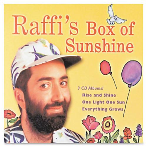 Flipside Raffi's Box Of Sunshine 3-CD Set - Children