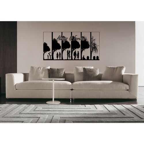 Always & Forever Wall Art Sticker Decal