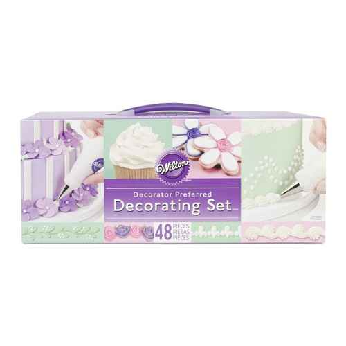 Wilton 48-Piece Decorator Preferred ButtercreamDecorating Set