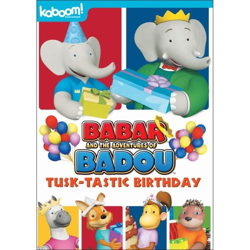 Babar and the Adventures of Badou: Tusk-tastic Birthday [DVD]
