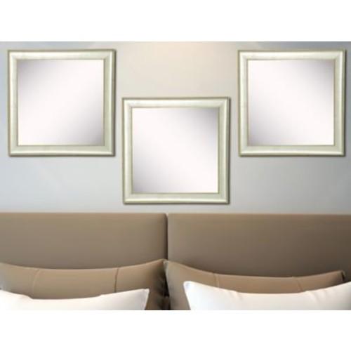 Rayne Mirrors Ava Vintage Silver Mirror (Set of 3)