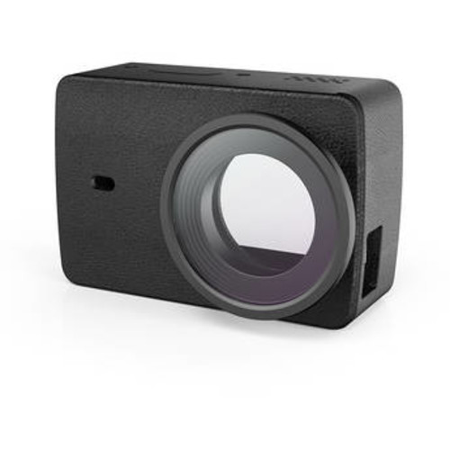 Leather Case with Protective Lens for 4K Action Camera (Black)
