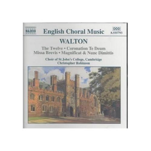 Walton: english Choral Music CD (2002)