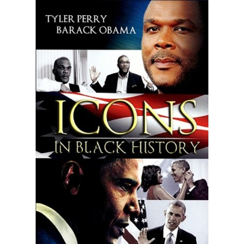 Icons in Black History: Tyler Perry/Barack Obama [2 Discs]