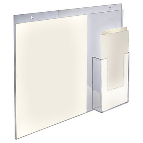 Azar Wall Mount With Trifold Pocket 2ct