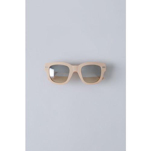Frame Metal matt pink/silver half mirror