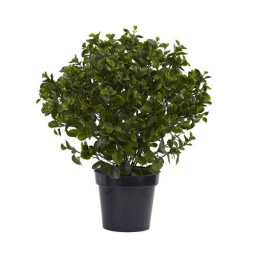 Nearly Natural 28 in. UV Resistant Indoor/Outdoor Peperomia Plant