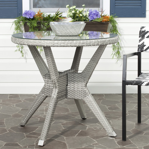 Safavieh Patio Langer Round End Table - PAT4006A