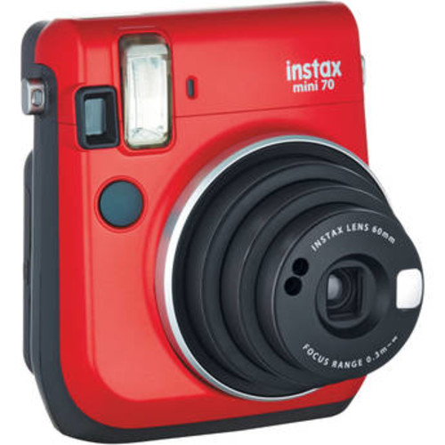 instax mini 70 Instant Film Camera (Red)
