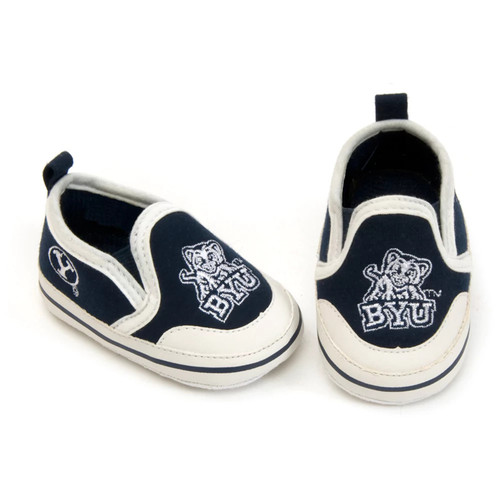 BYU Cougars NCAA Crib Shoes - Baby