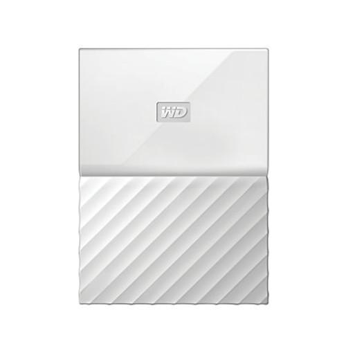 WD My Passport 4TB Portable External Hard Drive, White