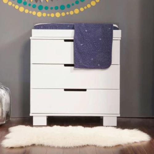 Babyletto Modo 3 Drawer Changer Dresser - White