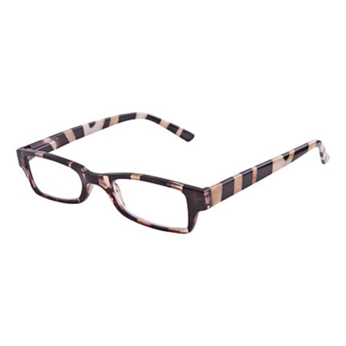 Wink San Diego Reading Glasses, +1.75, Zebra