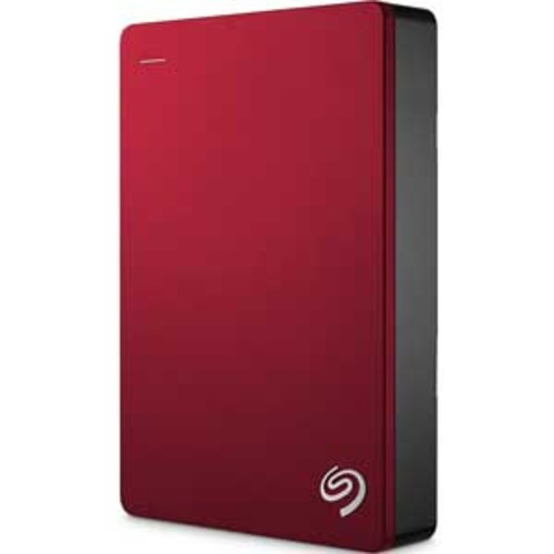 Seagate Backup Plus 4TB Portable External Hard Drive USB 3.0 - Red : STDR4000902