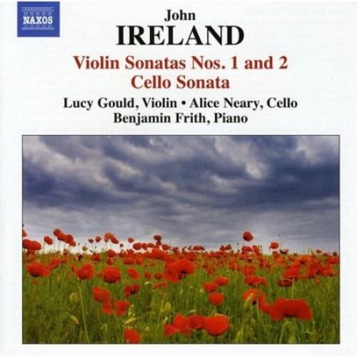 John Ireland: Violin Sonatas Nos. 1 & 2; Cello Sonata [CD]