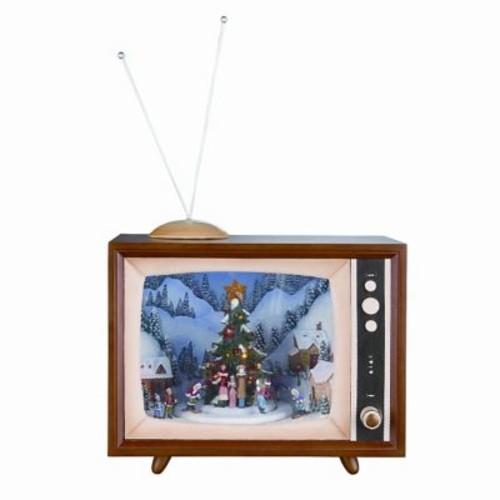 Roman, Inc. Musical Television Figurine