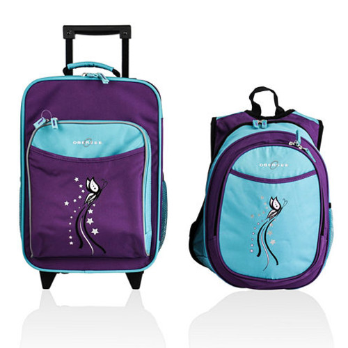 Obersee Kids 2-pc. Butterfly Luggage & Backpack with Cooler Set