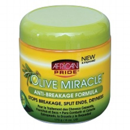 African Pride Olive Miracle Anti-Breakage Formula Hair Treatment