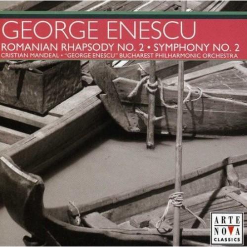 Enescu: Romanian Rhapsody No. 2; Symphony No. 2 [CD]