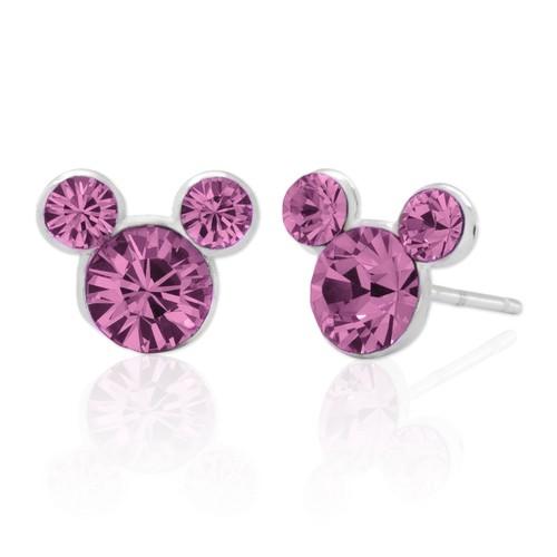 Disney Sterling Silver Mickey Stud Earrings