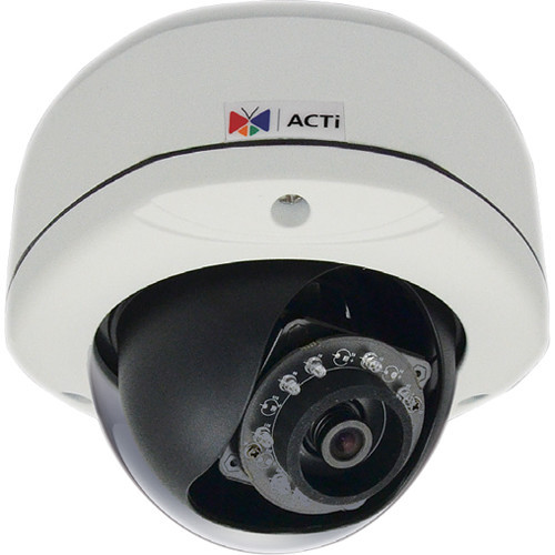 E78 2MP Outdoor PoE Network Dome Camera with 3.1mm Fixed Focal Lens